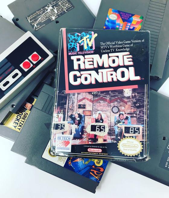 Retro Video Game of the Day: Remote Control