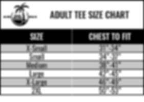 Kihei Brand, Size Chart, Kihei Brand Size Chart, Kihei Brand Co.
