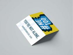 #MeTooFrederick Business Card