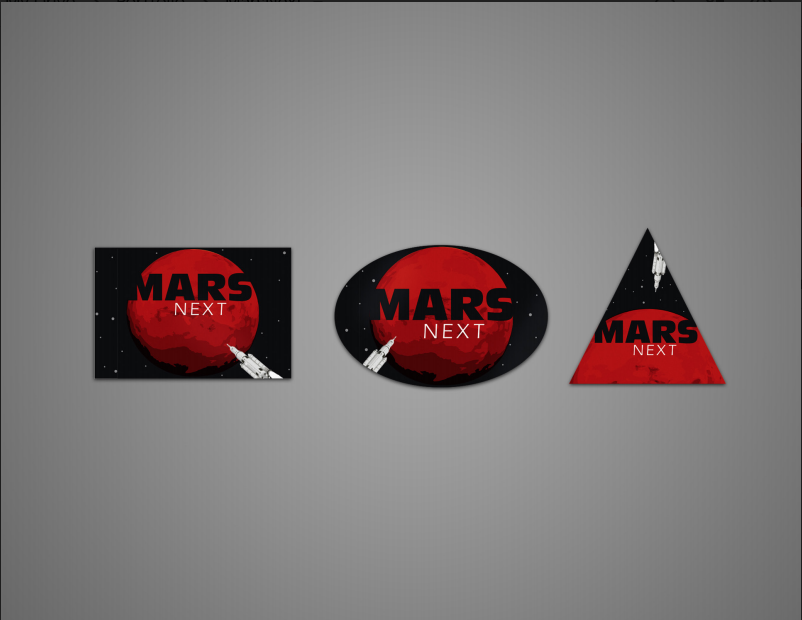 Mars Next Stickers