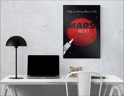 Mars Next Poster