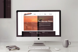 The Grille Website (Desktop)