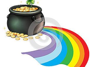 pot-gold-coins-green-plant-illustration-