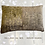 Thumbnail: a pair of nature printed linen pillowcases - wisteria leaves and blossoms