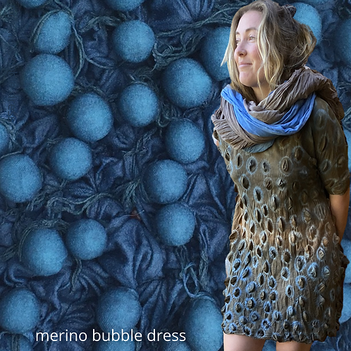 Silky Merino Bubble Dress