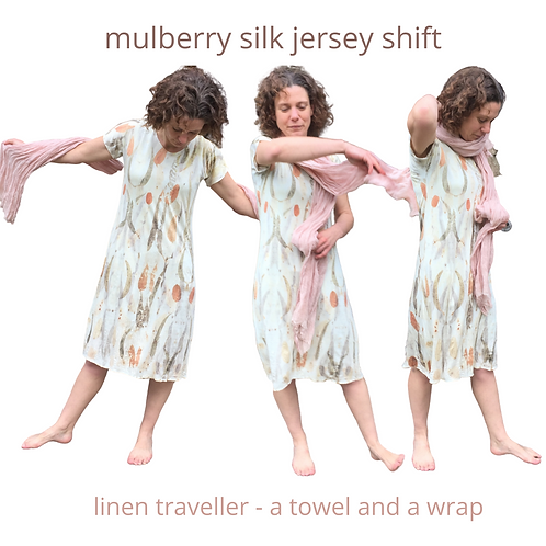 Mulberry Silk Jersey Shift