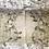 Thumbnail: a pair of nature printed linen pillowcases - honeysuckle
