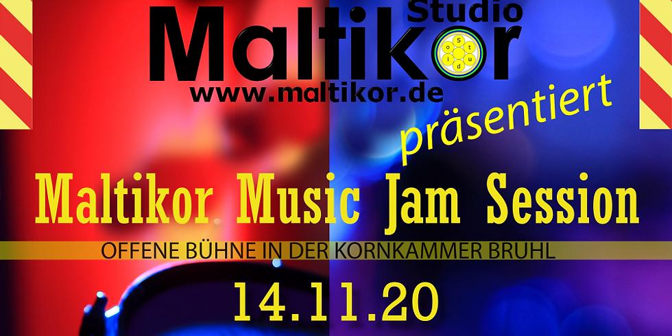 Maltikor Music Jam Session by Franc-Guitar-O, Kornkammer Brühl