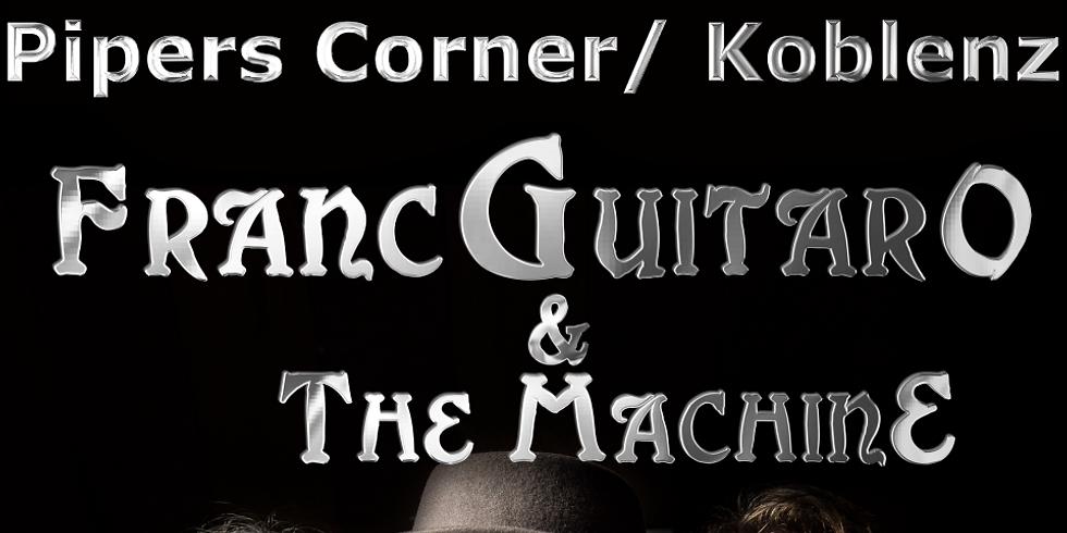 Franc-Guitar-O And The MachinE im Pipers Corner, Koblenz