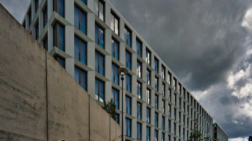 buildings in Überseestadt