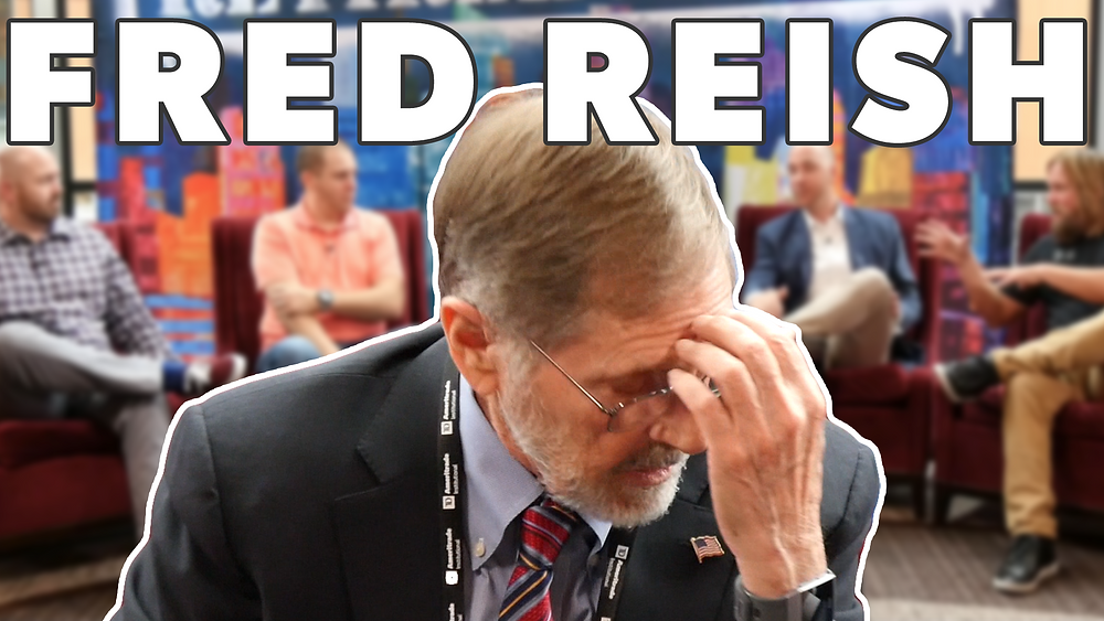 Caught a still of Fred Reish adjusting his glasses, but it looked fitting for our video thumbnail.