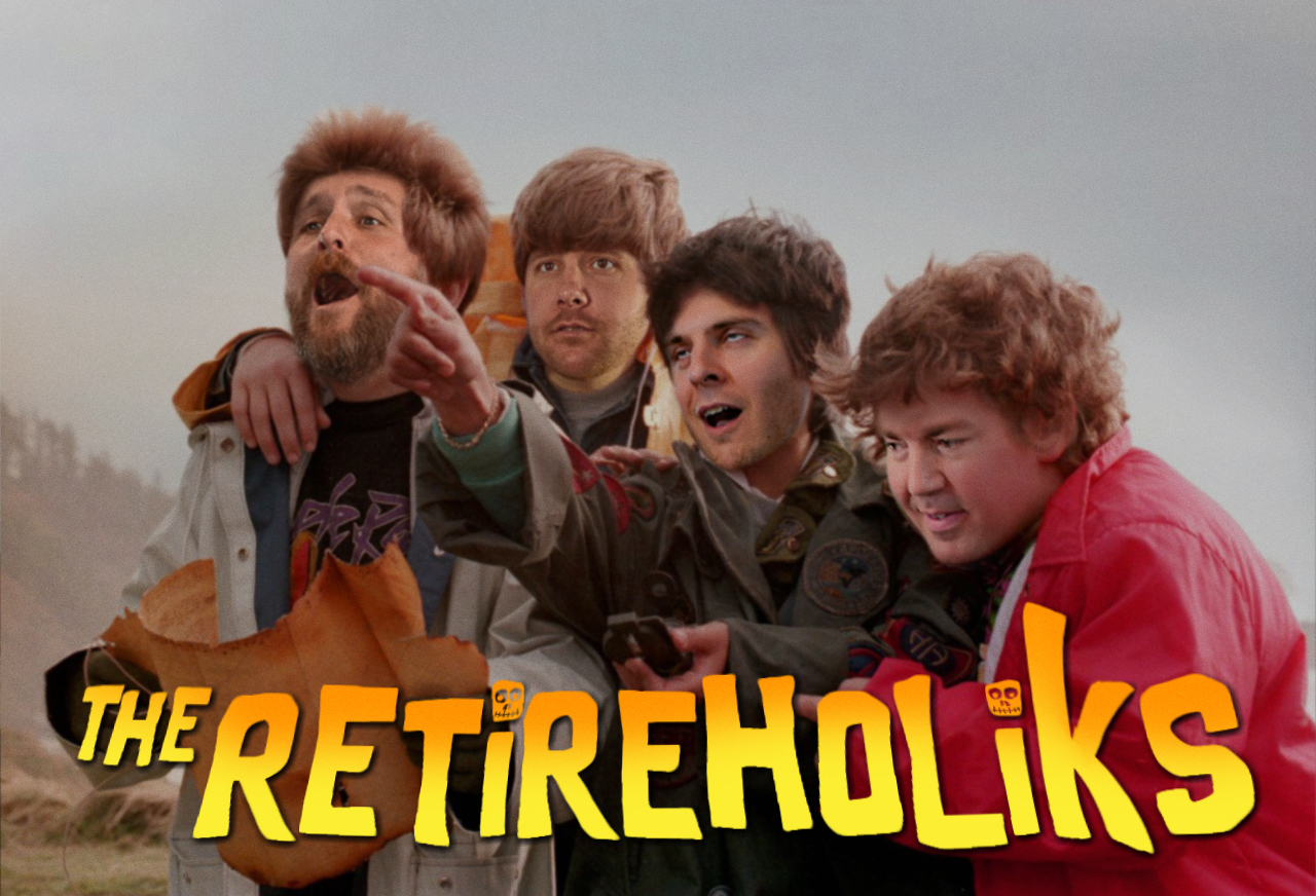 The Retireholiks as the Goonies