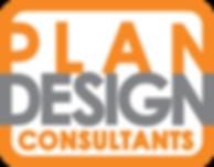 Plan Design Consultants logo whitebackgr