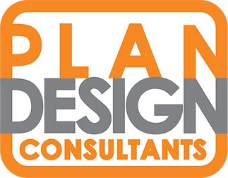 Plan Design Consultants logo whitebackgr