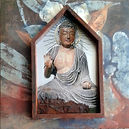 lori buddha 12x12 metal and canvas.jpg