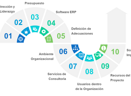 10 Factores de Éxito para la Implementación de un Software ERP
