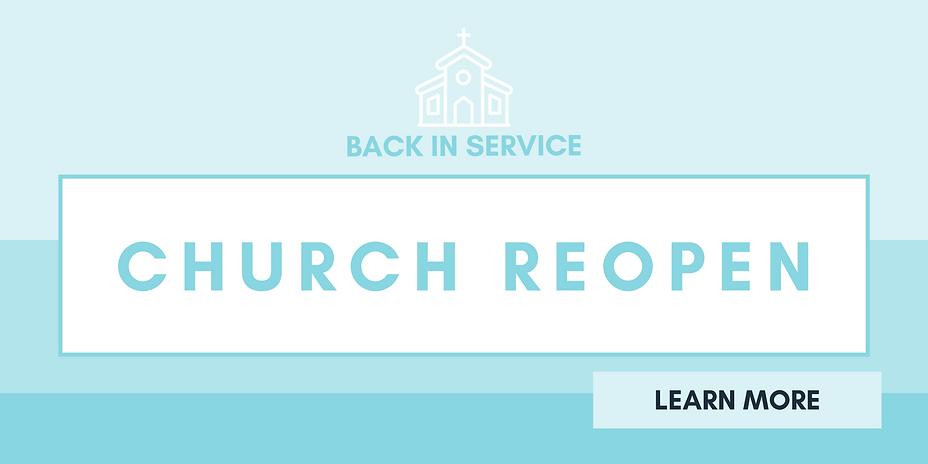 Church Reopen