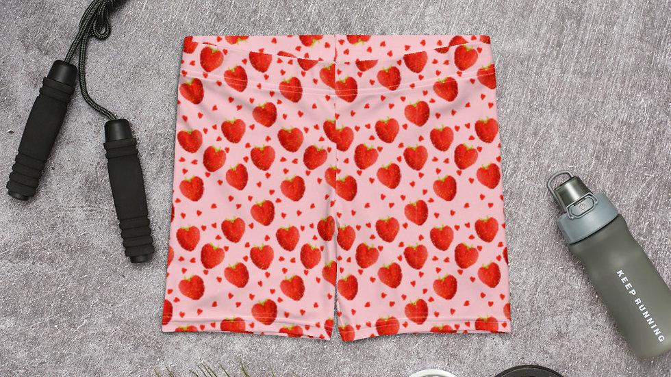 Strawberry Slider Shorts