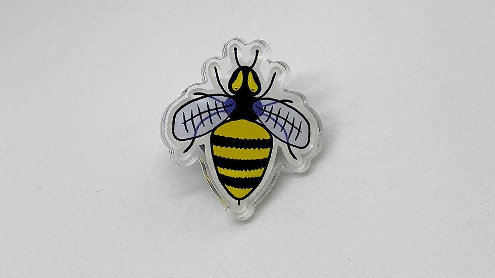 Bumble Bee Acrylic Pin