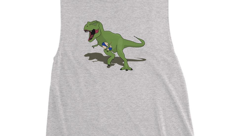 Dino Ladies' Muscle Tank