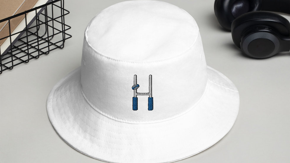 Rugby Uprights Bucket Hat