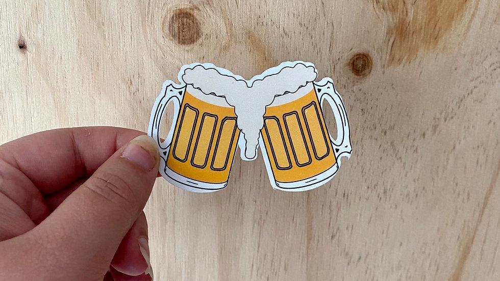 Beer Lovers Sticker