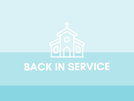 Church Reopening August 1st