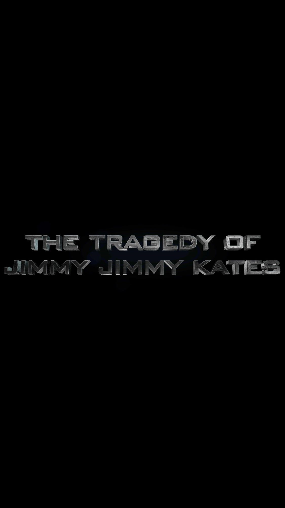 Tragedy of Jimmy