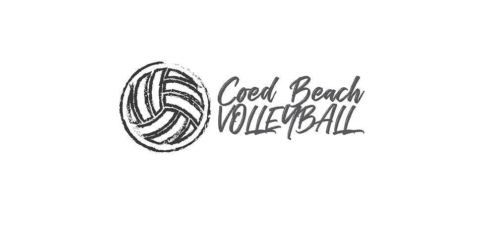 Beach Volleyball Coed Tournament