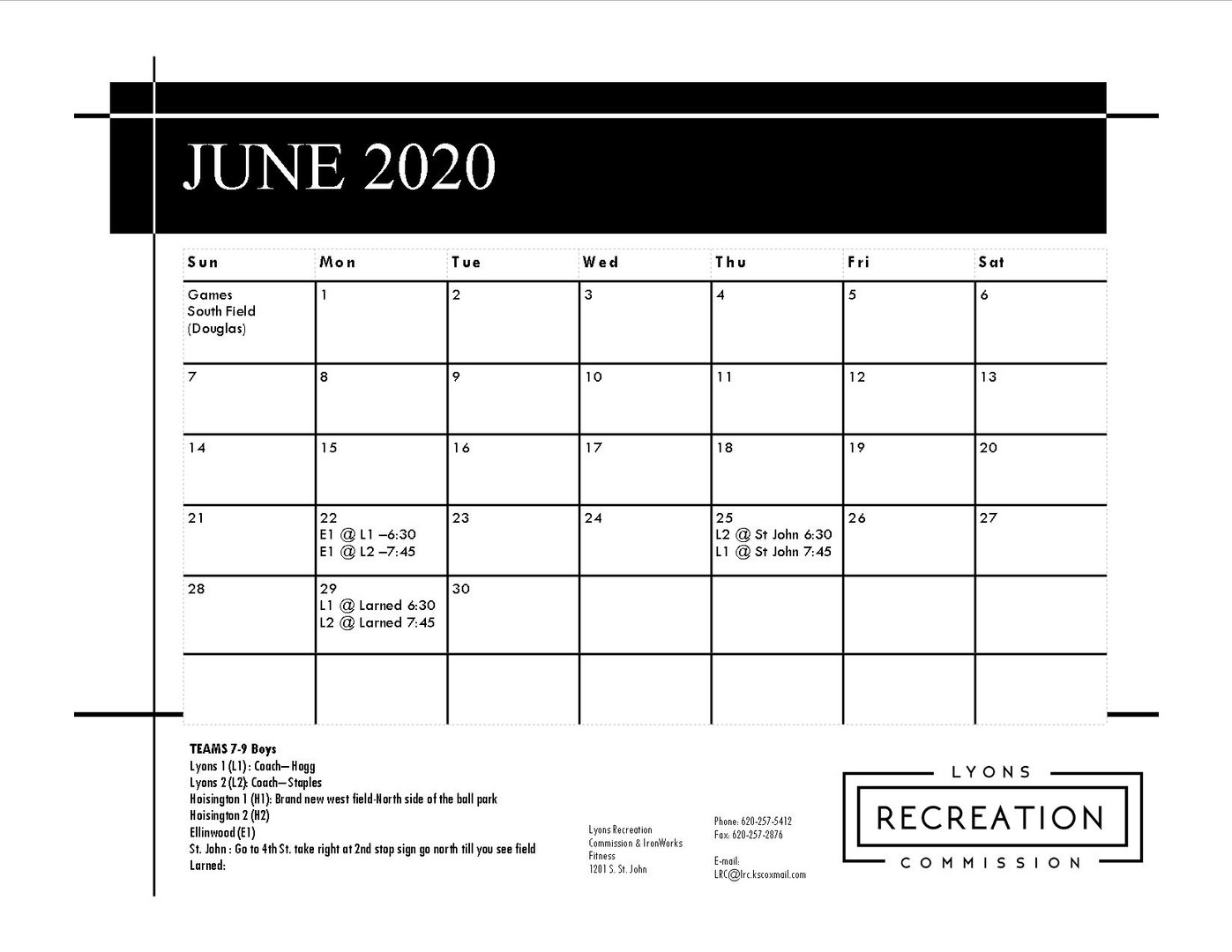 7-9 Boys '20 (June)