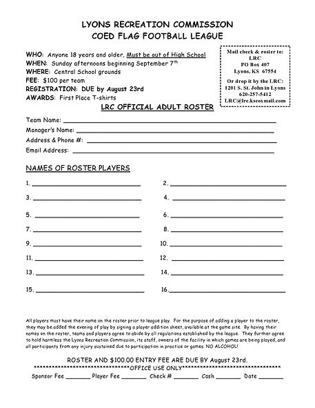 adult coed flag football sign up sheet-p