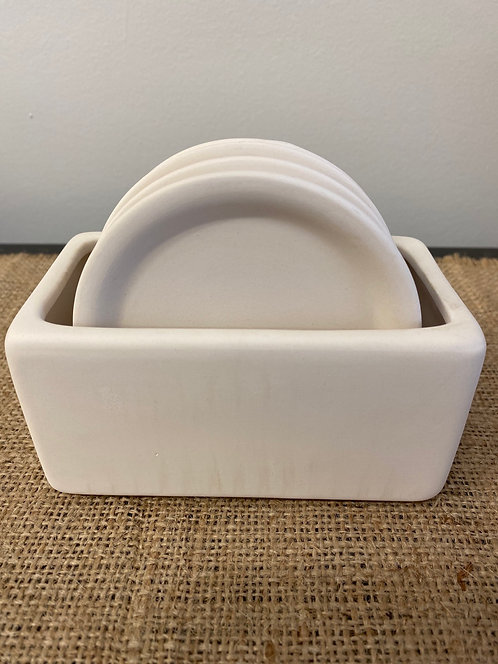 Round Cosster with Box