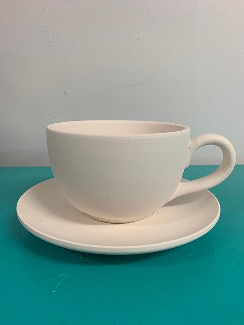 Latte Mug & Plate