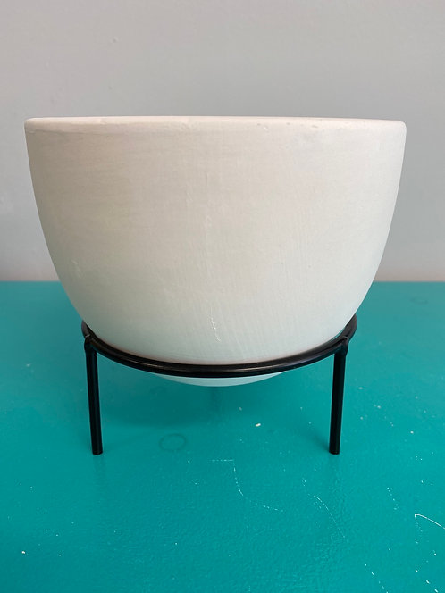 Oval Planter with Stand