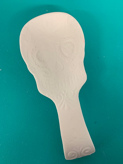 Sugar Skull Spoon Rest