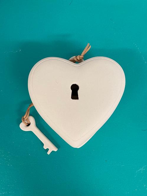 Heart Box with Key