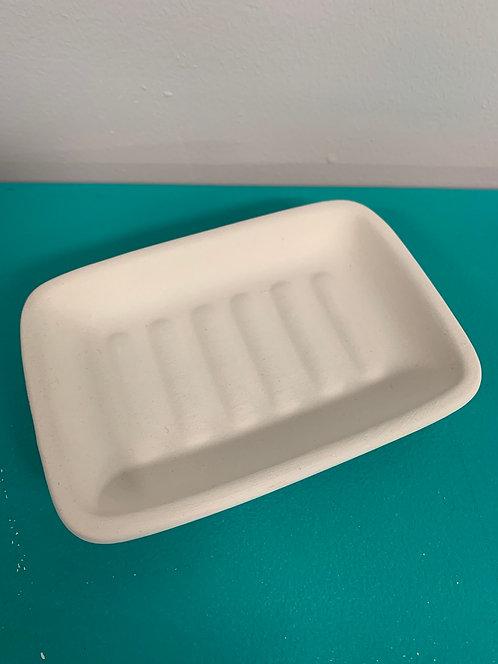 Soap Dish (ribbed)