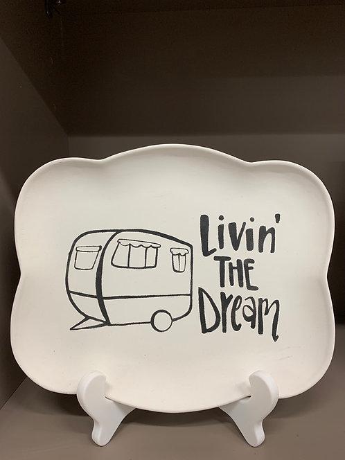 Camper Livin' Plate