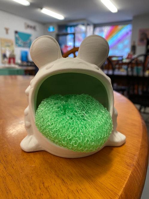 Frog Scrubbie