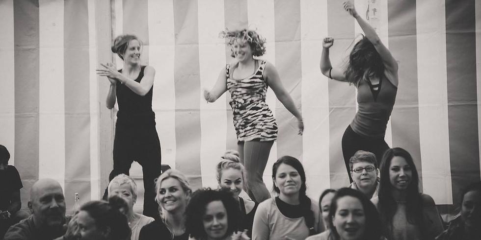 Kreativworkshop: Tanze mit den Farben deines Lebens!