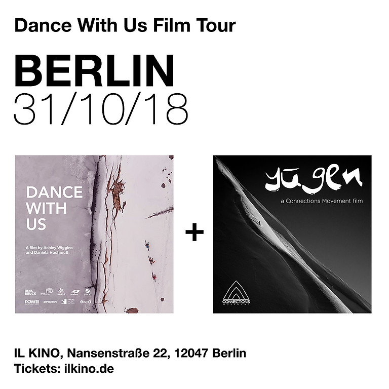 DanceWithUsFilmTour Berlin: Yūgen & Dance With Us + After Party
