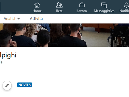 Pagina LinkedIn Centro Studi Malpighi