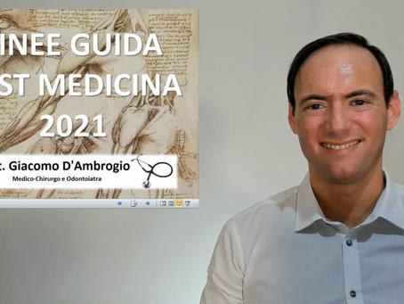 Videocommento Decreto Ministeriale Test Medicina 2021 (D.M. 730 del 25-6-21) + Consigli per i Test