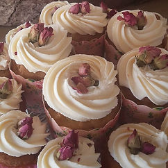 earl grey cup cakes