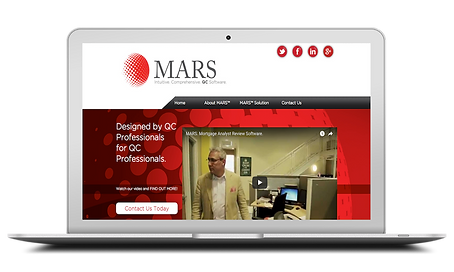 Computer showing MARS Page