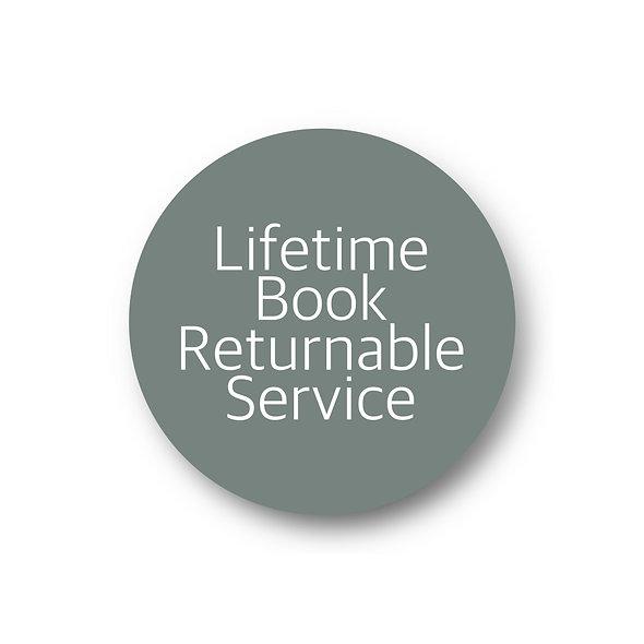 Lifetime Book Returnable Service