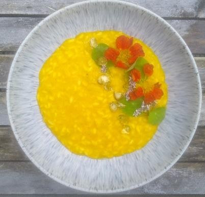 Low waste Squash and Leek Risotto