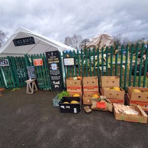 Pumpkin Donations at Platt Fields Market Garden
