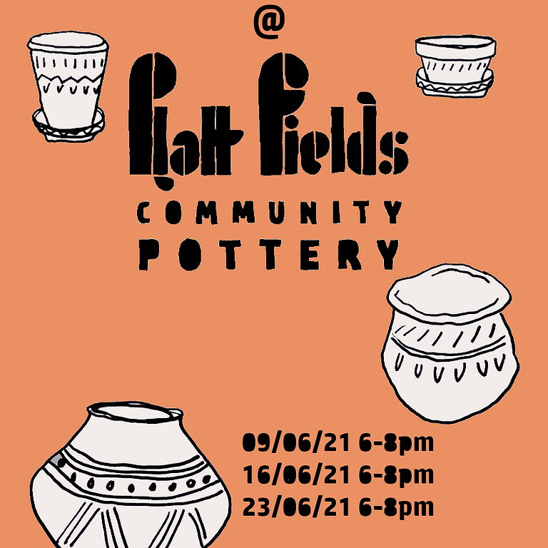 PFMG Community Pottery Workshop - Planters and Dishes