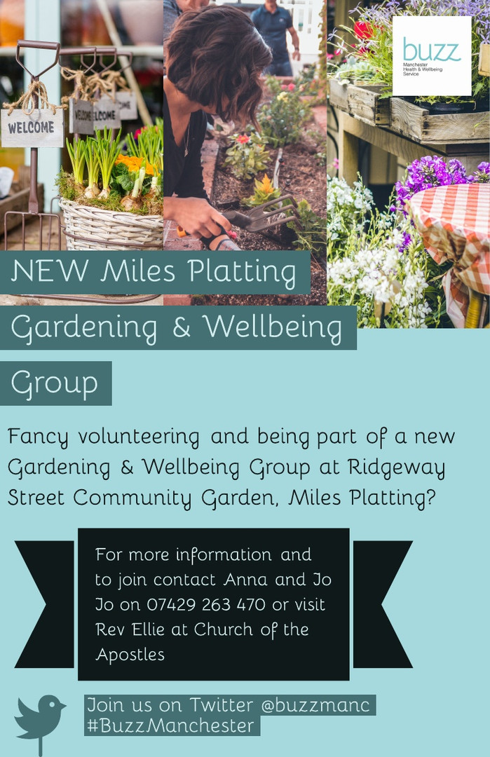 Gardening & Wellbeing Group - Miles Plat